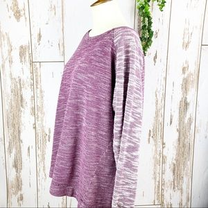 Champion Tops - CHAMPION Purple Space Dyed Raglan Sweatshirt EUC